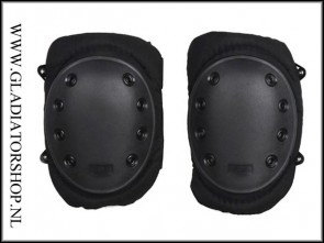 101-INC Tactical knie bescherming zwart knee pad