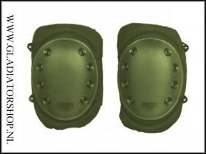 101-INC Tactical knie bescherming olijf groen