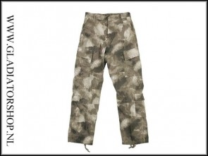101inc BDU broek ACU in ICC AU camo