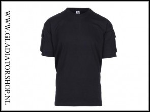 101inc Tactical T-Shirt met pocket in de kleur Zwart