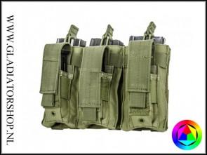 101inc Triple M4 / M16 airsoft mag kangaroe pouch