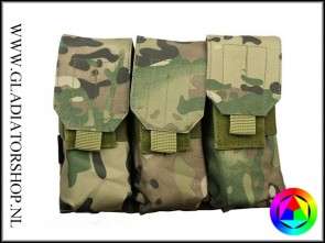 101inc Triple M4 / M16 airsoft mag pouch