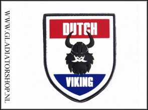 PVC Velcro Patch: Dutch Viking