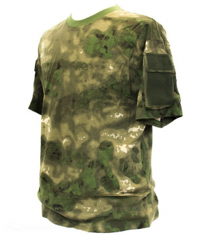 101inc Tactical T-Shirt met pocket in de kleur ICC FG camo