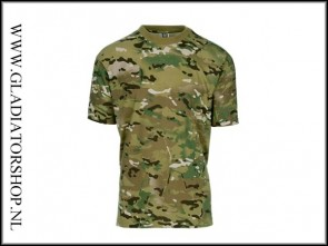 101inc Tactical T-Shirt Recon korte mouw DTC multi