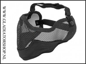 Stryker 3G Airsoft mesh face mask black