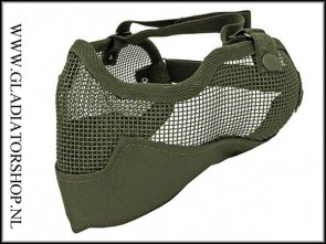 Stryker 3G Airsoft mesh face mask olive
