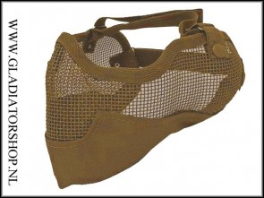Stryker 3G Airsoft mesh face mask tan