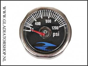 32 Degrees regulator micro gauge 1200 psi