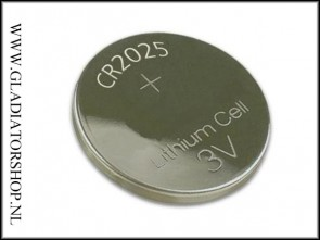 3 Volt Lithium Knoopcell CR2025
