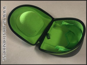 (O) Exalt carbon lens case