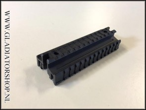 (O) UTG 3-sided picatinny rail