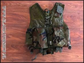 (O) Rap4 strikeforce tactical vest woodland camo