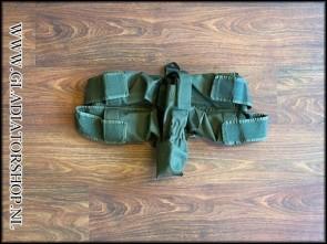 (O) Battlepack 4+1 horizontaal harnas olijfgroen/legergroen