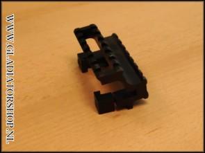 (O) Rap4 Tactical dual offset top & side riser mount rail