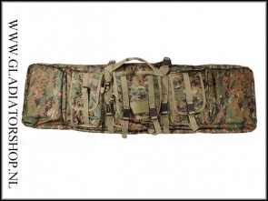 101inc Raptor Airsoft geweer, replica tas digital camo