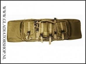 101inc Raptor Airsoft geweer, replica tas leger groen (105cm)