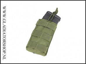 Condor single Open top M4 Magazijn Molle Pouch leger groen