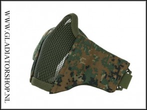 101inc gear Airsoft nylon/mesh face mask