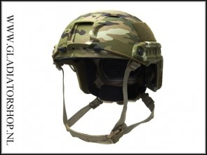 Emerson Mich Fast Airsoft Helmet DTC/Multicam