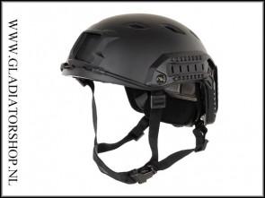 Emerson Mich Fast Airsoft Helmet Zwart