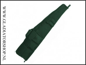 Stealth shooter sniper Airsoft replica geweer & pistool tas ultimate de Luxe Groen (125cm)