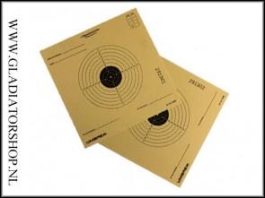 Umarex Airsoft Target Practice kaarten - 25 stuks
