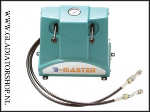 (O) Bauer B-master Midi fill-station 2 vul slangen mogelijkheid