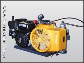 Bauer PE-100 compressor 4-takt benzine