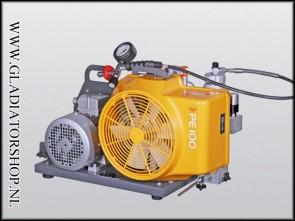 Bauer PE-100 compressor 220 volt wisselstroom