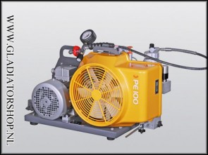 Bauer PE-100 compressor 380 volt krachtstroom
