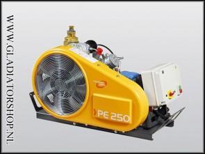 Bauer PE-250 TE compressor 380 volt krachtstroom