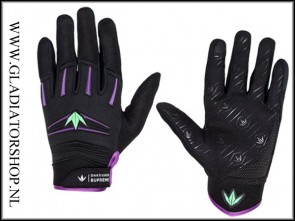 BNKR-Kings Supreme glove purple lime maat L/XL