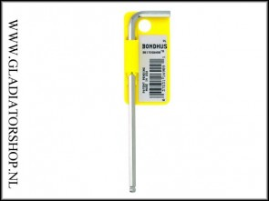 Bondhus inbus sleutel 1/8 inch RVS