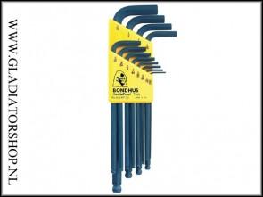 Bondhus inbus kit inch - 12 delig