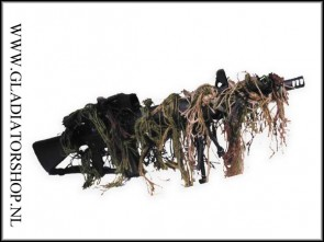 Bushrag Riflerag ghillie rifle cover