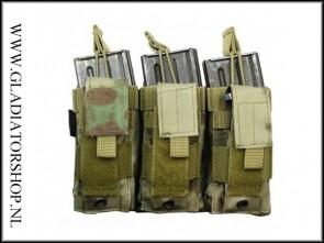 Condor Triple M4 / M16 airsoft mag kangaroe pouch ICC FG