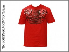 Contract Killer T-Shirt Stand Down red maat XL