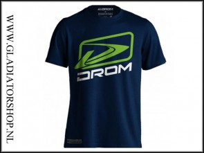 Drom Lightech T-Shirt Spirit blauw
