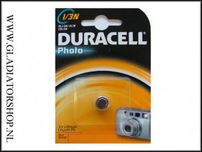 Duracell 3 volt PIL batterij