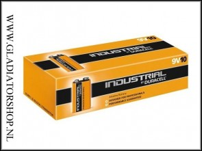 Duracell Industrial 9V 10 pack