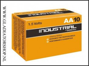 Duracell Industrial AA penlite 10 pack