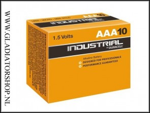 Duracell Industrial AAA penlite 10 pack