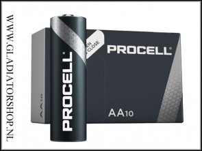 Duracell Procell AA penlite 10 pack