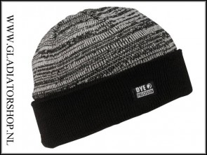 Dye Beanie Shredded Heather zwart