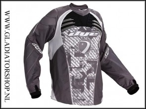 Dye C11 jersey Geometric grijs maat XXL
