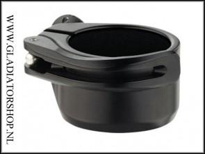 Dye clamping feedneck zwart voor Dye & Proto