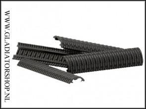 Dye DAM modular rail cover 4-pack zwart