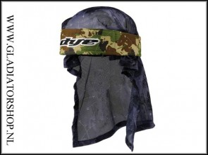 Dye Headwrap Global camo