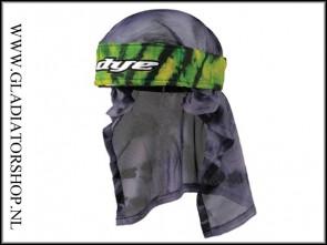 Dye Headwrap Tie Dye groen